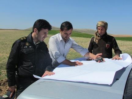 آزاد سازی 27 هکتار از اراضی تملک شده شرکت آب منطقه ای زنجان در اراضی بالای تراز و زیر تراز دریاچه سد گلابر