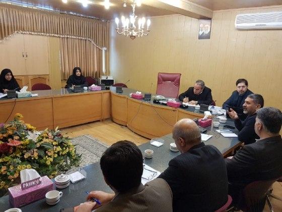 جلسه کمیته سلامت اداری و صیانت از حقوق مردم در شرکت آب منطقه ای زنجان برگزارشد.