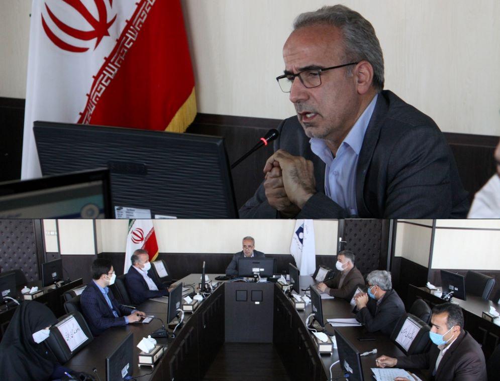 اولین جلسه حوضه آبریز سفیدرود بزرگ با حضور مدیرعامل شرکت آب منطقه ای زنجان برگزارشد