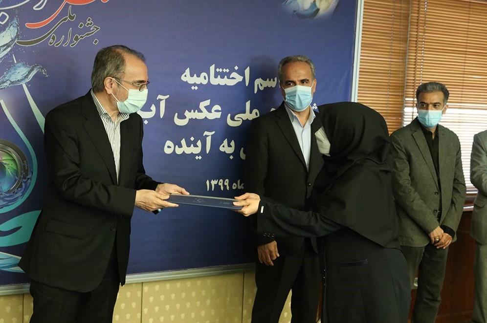 تقدیرمعاون وزیر نیرو در امورآب و آبفا از مدیر روابط عمومی شرکت آب منطقه ای زنجان